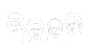 seinfeld art drawing graphic design illustrator adobe life lifestyle streetwear clothing brand obf obfc obfclothing one big family unite the family